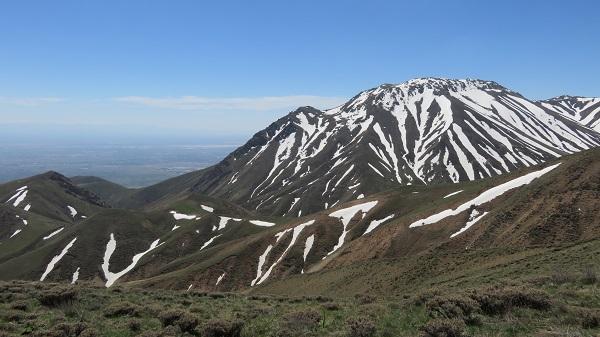 تصویر از ارتفاعات قره بله – رشته کوه میشو – آذربایجان شرقی
