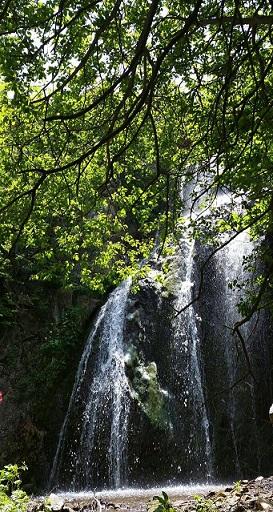 تصویر از آبشار آغویه – کلیبر – آذربایجان شرقی