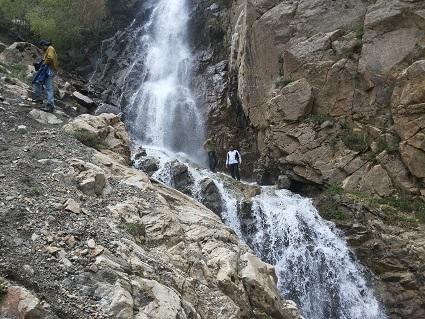 تصویر از آبشار عیش آباد مرند