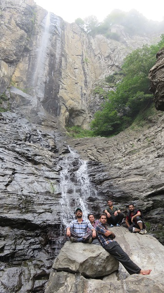تصویر از آبشار لاتون – آستارا ( ۱۳۹۴ )