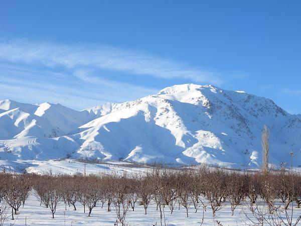 تصویر از قله میشو – مرند – آذربایجان شرقی ( زمستان ۱۳۹۴ )
