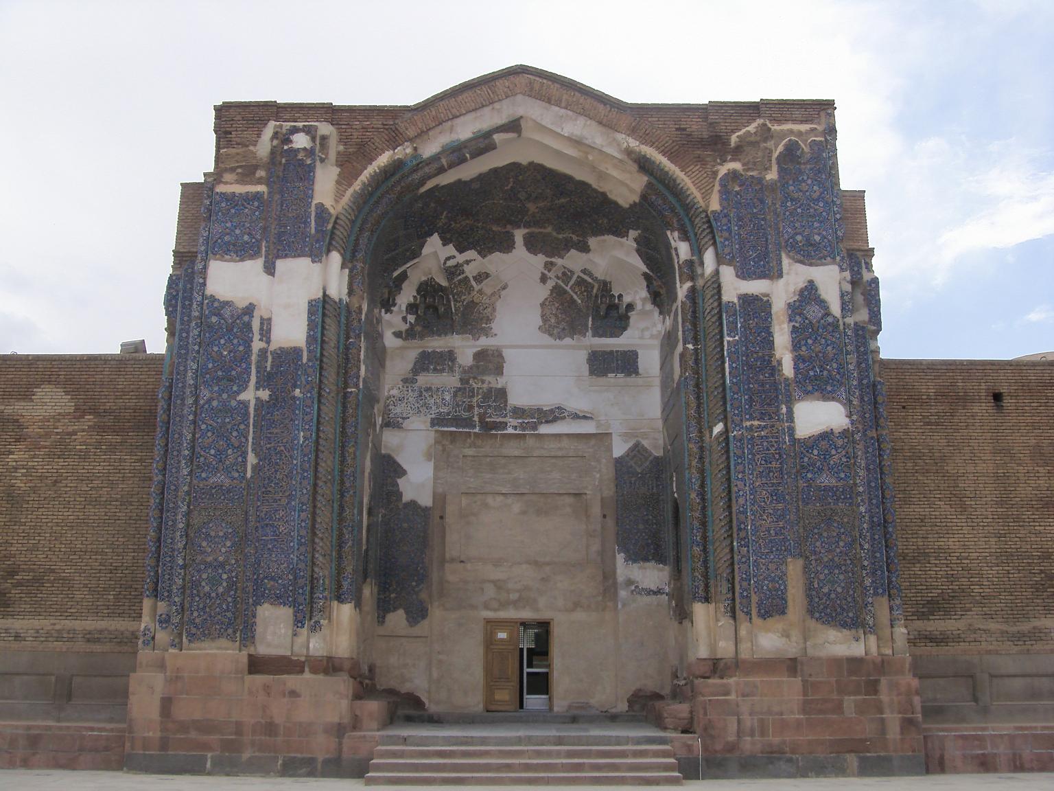 تصویر از Kabud (Blue) Mosque, Tabriz,East Azerbaijan,Iran