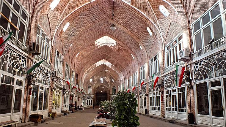 تصویر از Tabriz Bazaar, East Azerbaijan, Iran