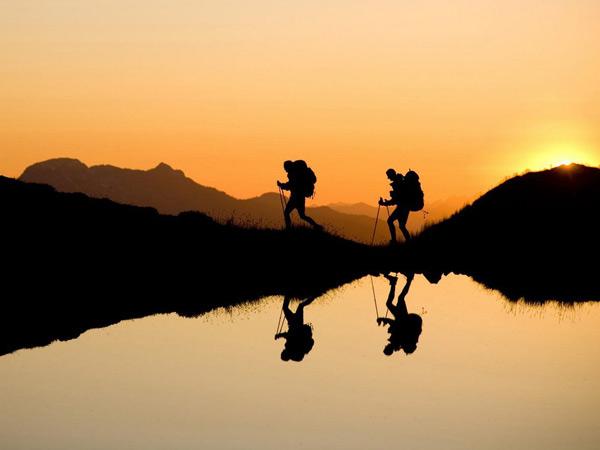 تصویر از اصول گام برداری صحیح در کوهپیمایی