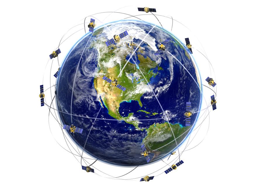 تصویر از سیستم موقعیت یاب جهانی ( GPS )