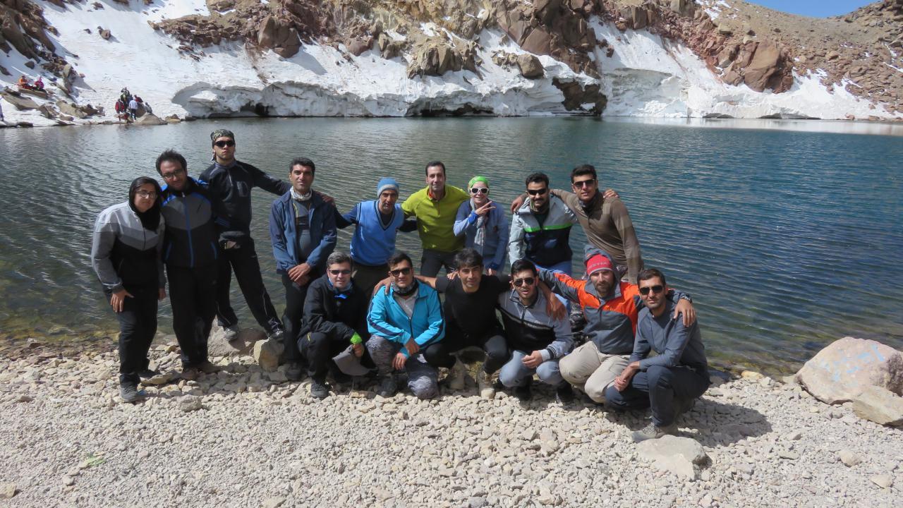 تصویر از برنامه پنجشنبه ۲۹ تیر ۱۳۹۶ – صعود به قله سبلان