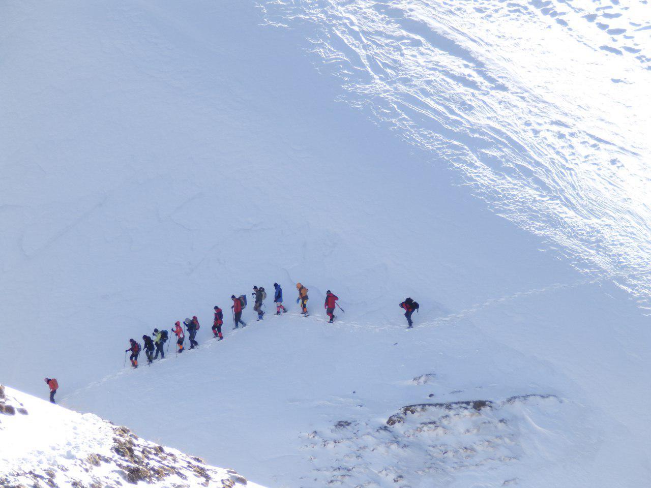 تصویر از برنامه ۲۰ بهمن ۱۳۹۶ – قله بزقوش سراب