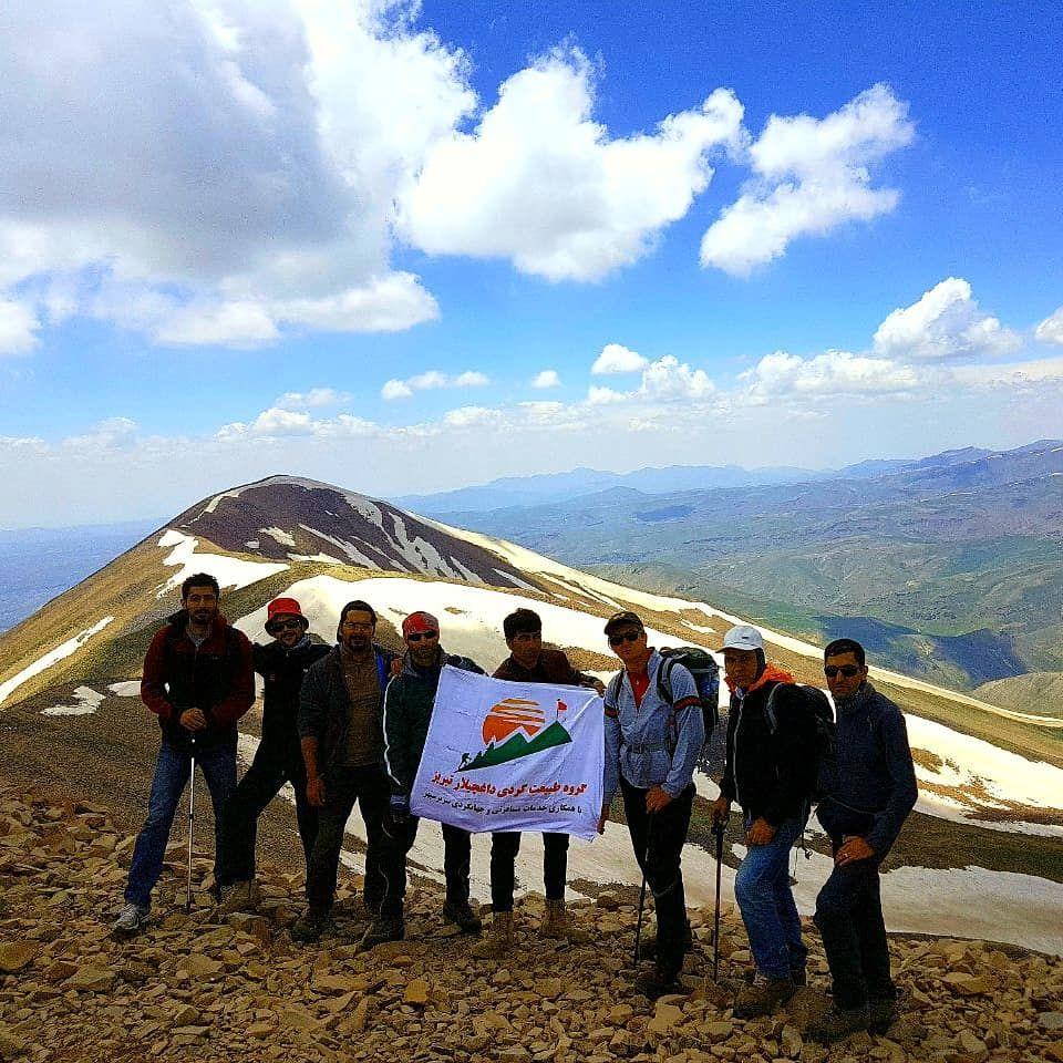 تصویر از برنامه کوهنوردی و صعود به قلل جام و سهند ۲۶ خرداد
