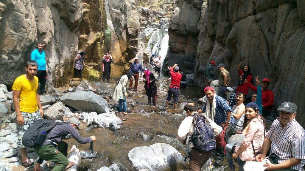 برنامه آبشار دمیرچی سراب ، 5 مرداد 97