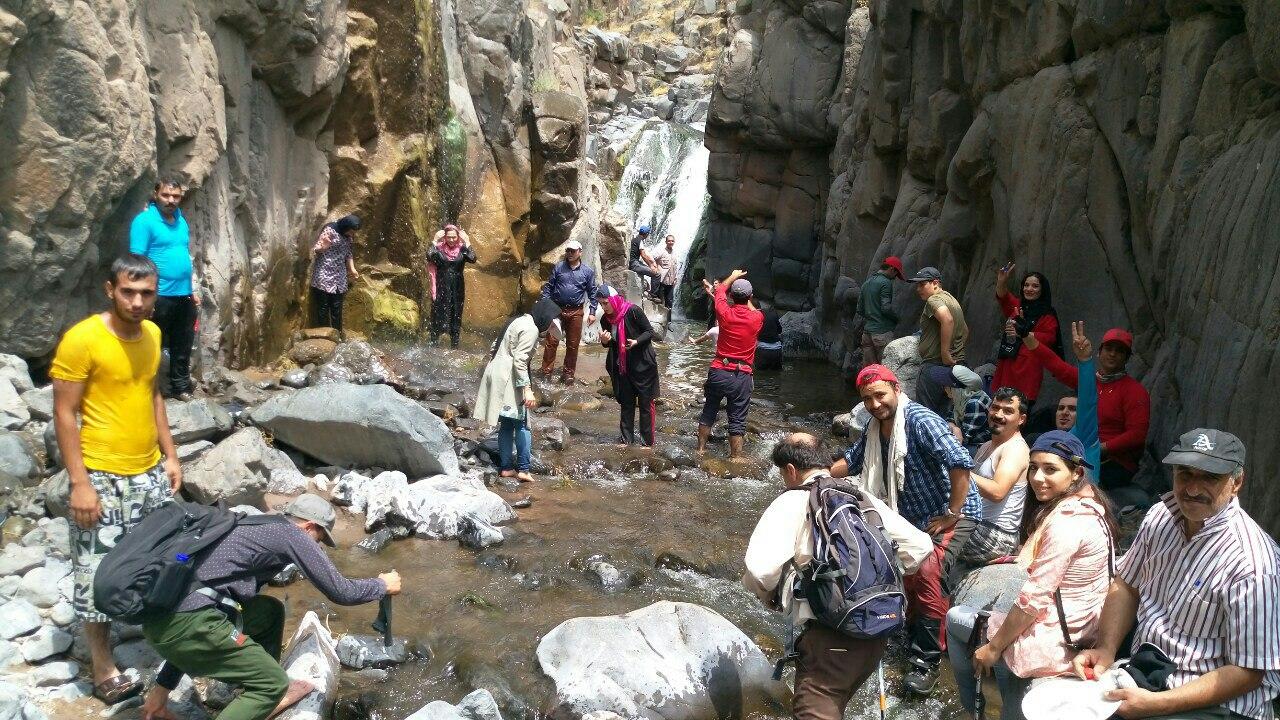 تصویر از برنامه آبشار دمیرچی سراب ، ۵ مرداد ۹۷